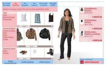 Mode-Shopping im Internet