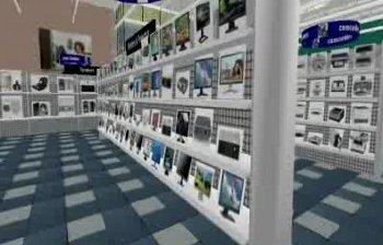 3D-Shopping in virtuellen Welten