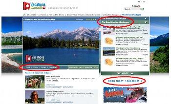 Vacations Canada TV