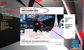 Fashion-Video von H&M mit gelungenem Trigger