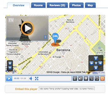 Google-Maps mit Video-Player