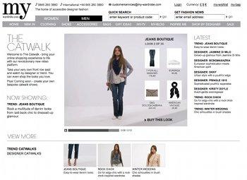 Catwalk-Show auf My-Wardrobe.com