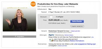 22Colors Auktion auf eBay