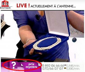 Prix Mystere bei M6 Boutique