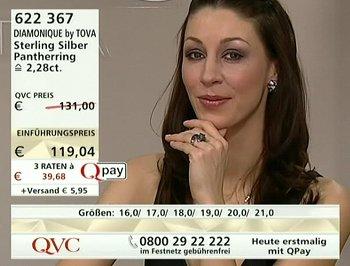 Verkaufssendung von QVC