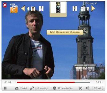 In-Video-Shopping auf externen Websites