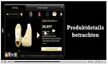 In-Video-Shopping im eigenen Online-Shop