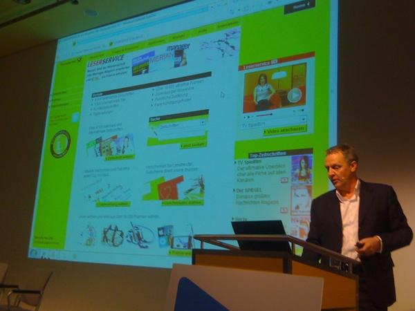 Klaus Kuenen, Manager Leserservice Online Deutsche Post AG