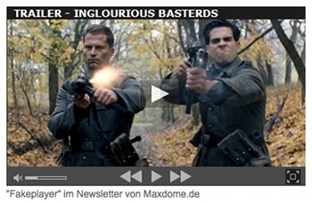 Fake-Player im Maxdome-Newsletter