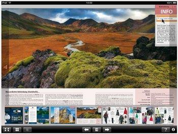 iPad App von Globetrotter