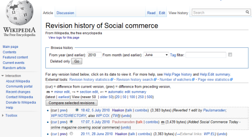 Wikipediarevision