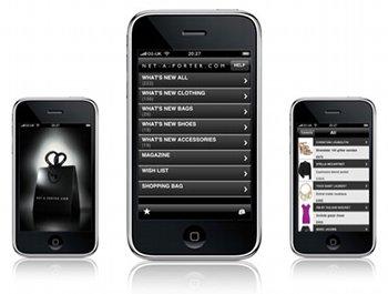 iPhone App von Net-a-Porter