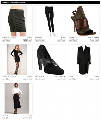 Promi-Boutique von Mary-Kate Olsen