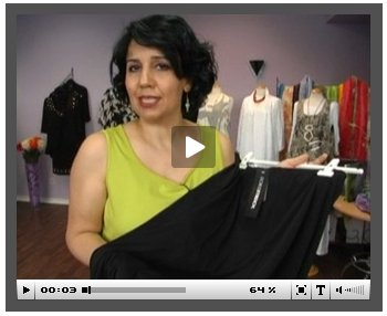 Mode-Video in der Online-Boutique Navabi