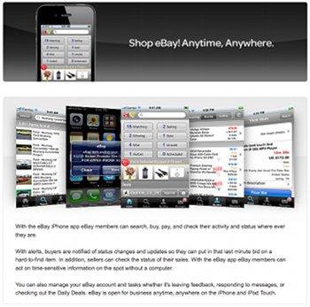 iPhone App von eBay