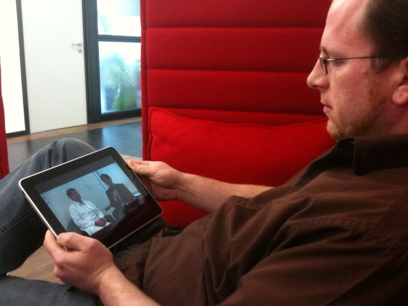 E- statt M-Commere: Shoppen mit dem iPad auf dem Sofa