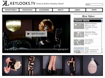 Video-Shopping-Angebot auf Keylooks.tv
