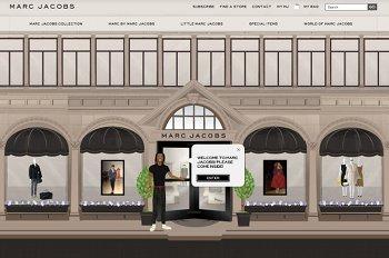 Online-Shop von Marc Jacobs