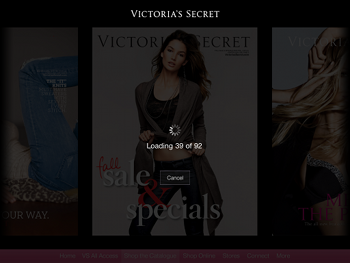 iPad App von Victorias Secret