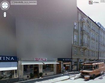 Pixelhaus in Google Maps