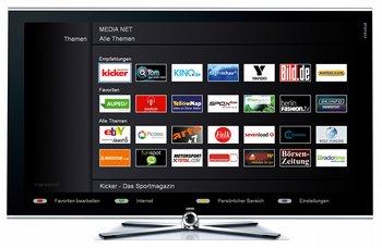 TV-Apps im Loewe MediaNet
