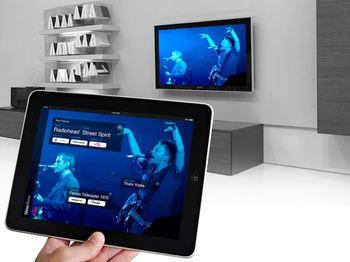 iPad-Anwendung Meta Mirror