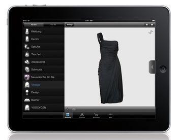 iPad-App von Yoox