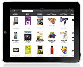 iPad App von Amazon