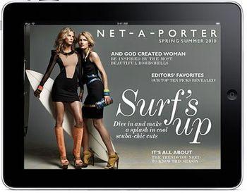 iPad App von Net-a-Porter