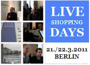Live Shopping Days - für Gründer und Investoren