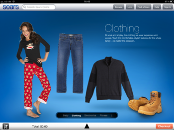 Sears for iPad