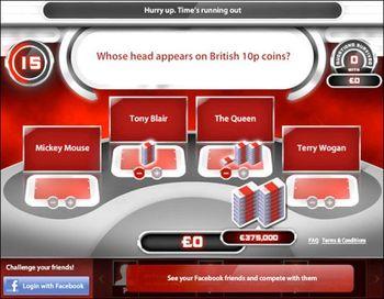 Million Pound Drop Game