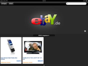 WOW-Aktionen in der eBay-App