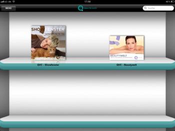 iPad App von QVC