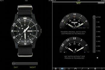iPad App von Traser