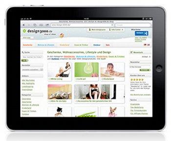 Klassische Website von Design3000.de