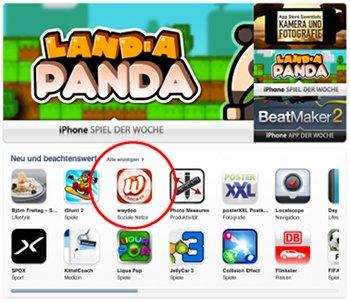 Waydoo im AppStore