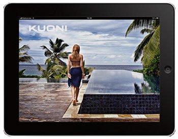 Kuoni auf dem iPad