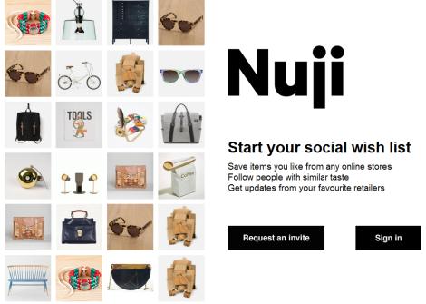 Nuji-startseite