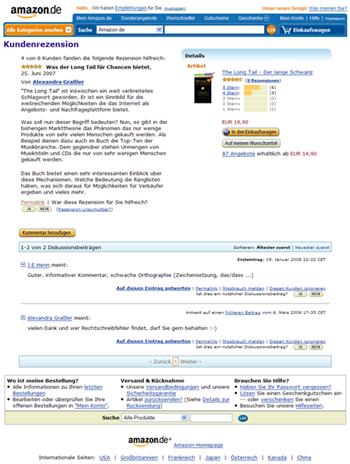 Amazonkundenrenzension
