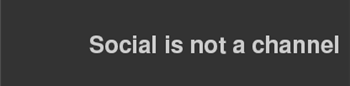 Socialisnotachannel
